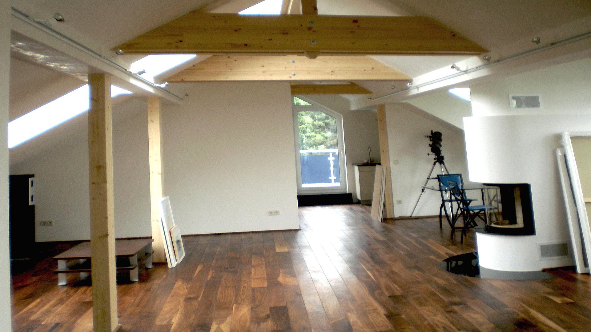 Dachgeschosssanierung eines Einfamilienhauses