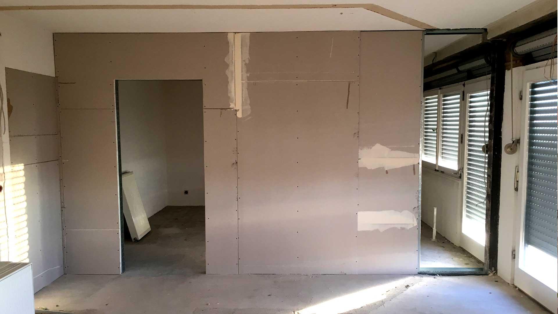 Umbau einer Villa