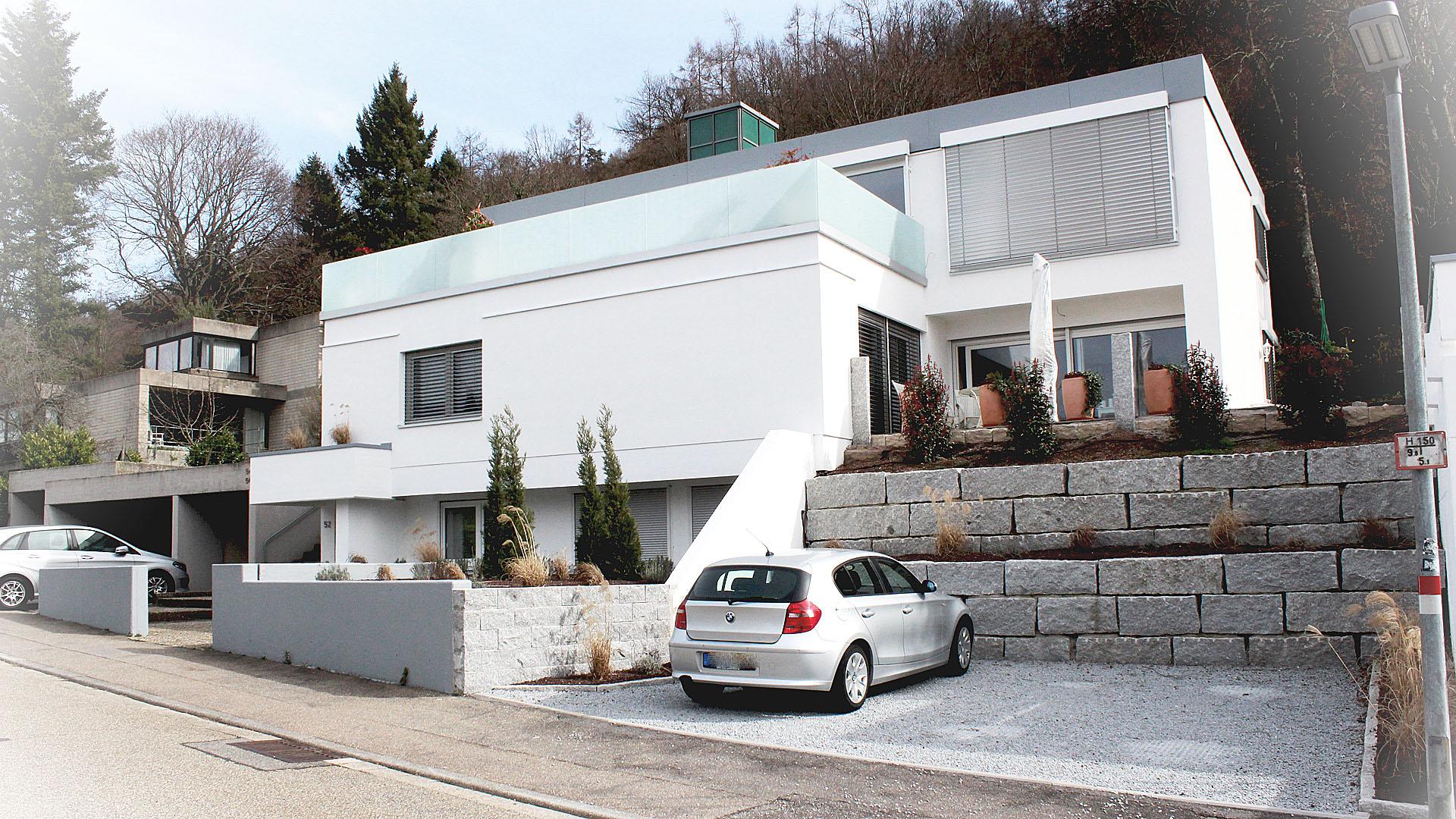 Umbau einer Villa mit Praxis in Ettlingen