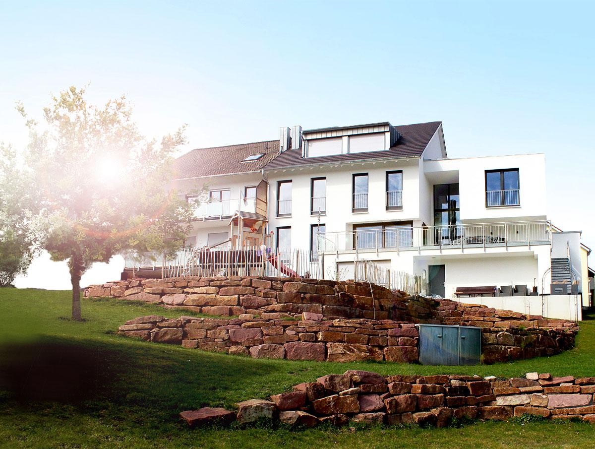 Umbau eines Dreifamilienhauses